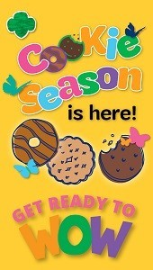 GSNC Girl Scout Cookie Season is Here!
