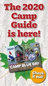 Camp Blue Bay's 2020 Camp Guide is Here!